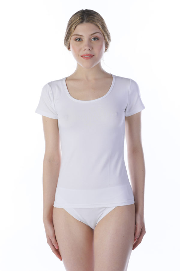 T-shirt cotone e modal 6109