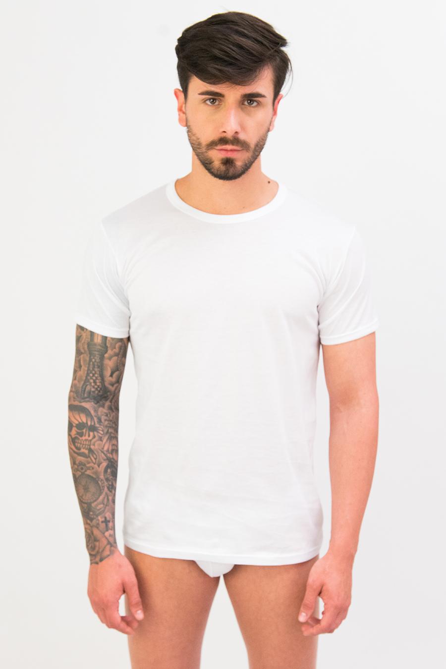 T-shirt in puro cotone Filo di Scozia