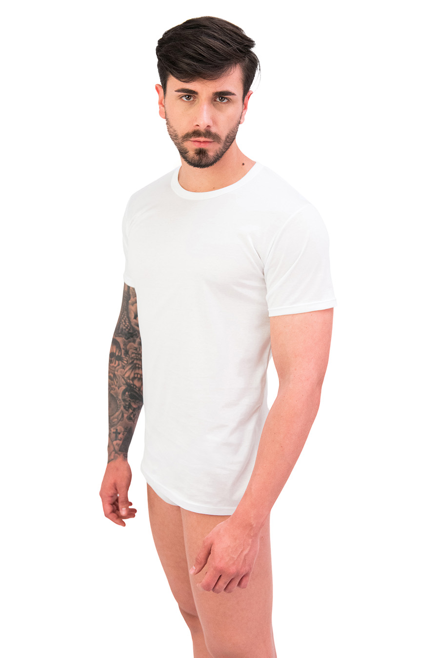 T-shirt in puro cotone Filo di Scozia 9120