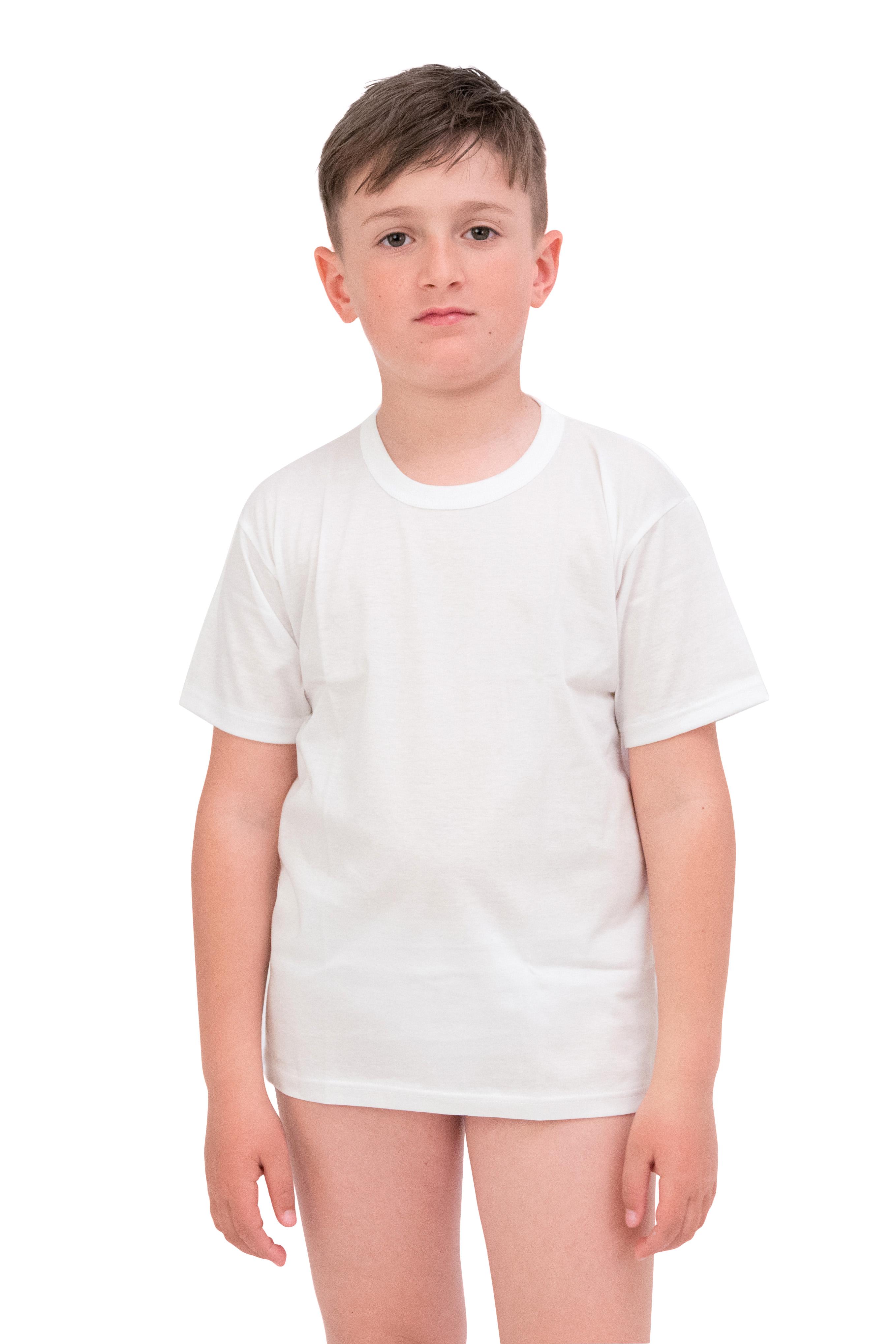 Maglietta in jersey di puro cotone