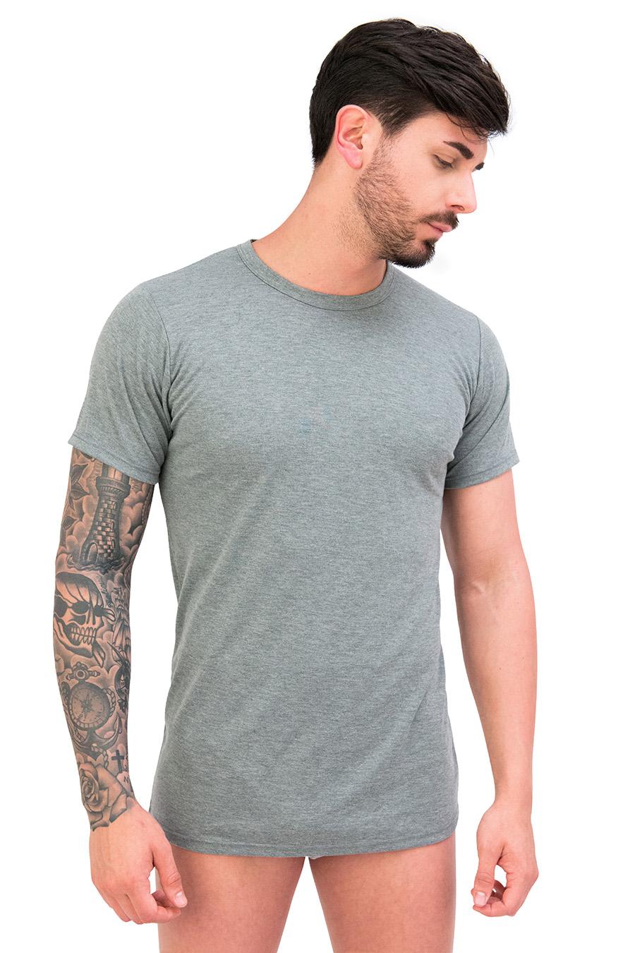 T-shirt in puro cotone termico invernale