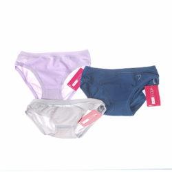 Confezione risparmio di 3 slip donna colorati senza elastico