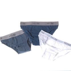 Confezione risparmio di 3 slip uomo in cotone e modal
