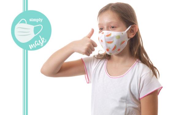 Nuove mascherine lavabili per adulti e bambini